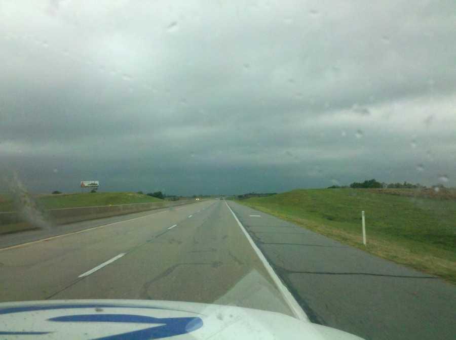 El Reno got 3.53 inches of rain in September, according to the Oklahoma Mesonet.