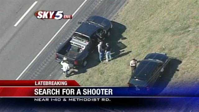 Canadian County police say they are investigating a shooting near Interstate 40 and Methodist Road west of El Reno.