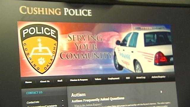 Helps police track what children has autism.