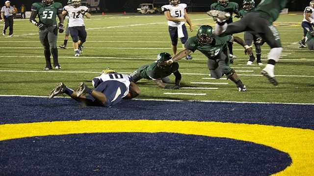 Though Speads run had all the effort you could hope for, ball would be placed but shy of the goal line.