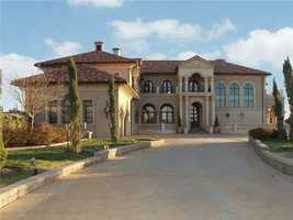 This home was built in 2005 and has more than 14,000 square feet of finished floor space. See the detailed listing at Realtor.com.