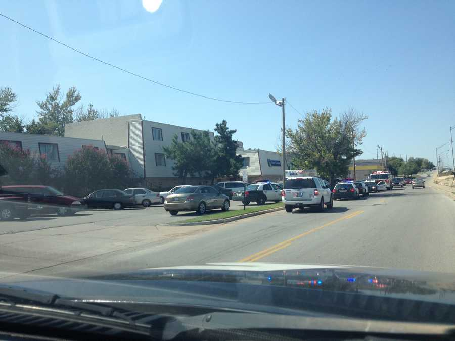 Police confirm that one person has been shot near NW 39th, Penn. KOCO's Naveen Dhaliwal sent us these photos.