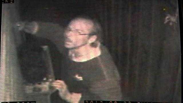 Man broke into David Walters' home.