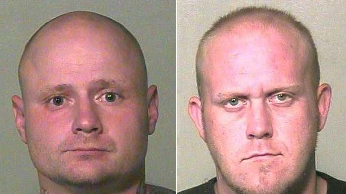 Left: Brian Cook, Right: Brandon Bates