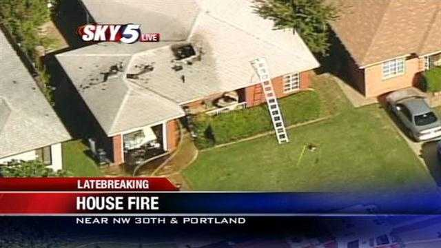 House fire reported at NW 30th, Portland