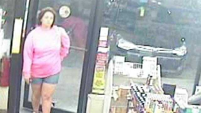 Police search for woman who tried to pass stolen check