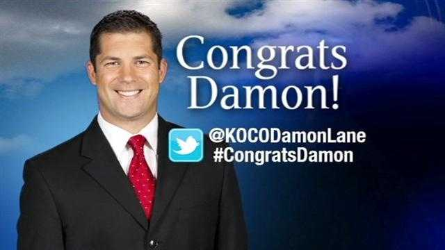 KOCO has a new chief meteorologist, and you're familiar with him. Damon Lane was named KOCO's top forecaster on Thursday.
