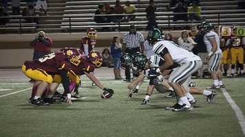 Putnam City struggled on offense all night, and it didn't help they played possibly the most experienced defense in the state. Norman North returned all starters form last year and have caused trouble for most opponents this season.