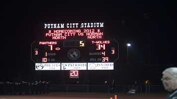 Norman North won 34-7 and ruined what should have been a nice homecoming night for Putnam City North fans.