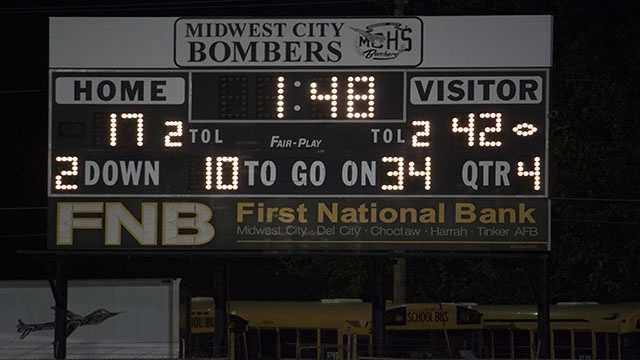 The Millers were able to leave Midwest City with a win after a solid 42-17 win over the Bombers.