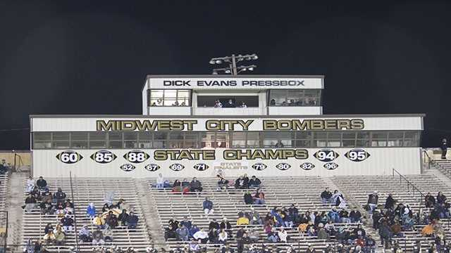 The Bombers are the last team from the west side of the state to win a Class 6A championship after back-to-back titles in 1994 and 1995. Jenks and Union have won the title each year since 1996, which was the last time Midwest City was in the finals.