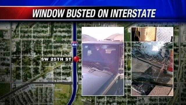 Happened near SW 25th bridge.