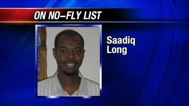Saadiq Long is trying to spend what could be one last holiday season with his sick mother in McAlester. But he's been placed on the no-fly list and nobody is telling him why.