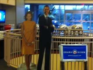 And the Oklahoma Democratic Watch Party certainly went into celebration mode as President Obama was re-elected.