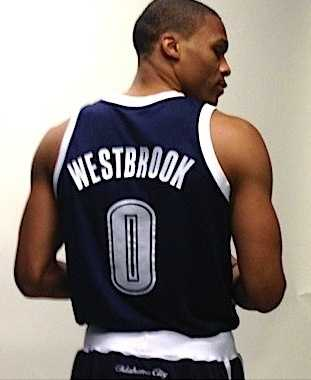 Russell Westbrook will be donning these threads Friday night against the Pistons.