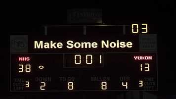 Norman won by 25 points, posting a 38-13 victory and marking their first playoff victory since 2002.