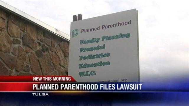 Planned Parenthood files lawsuit