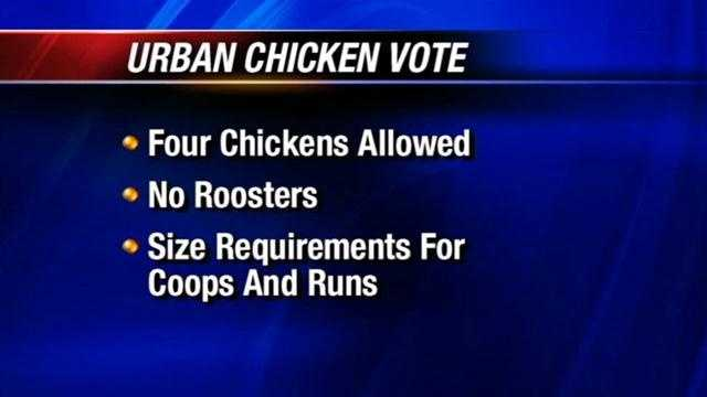 img-Norman residents allowed to own chickens