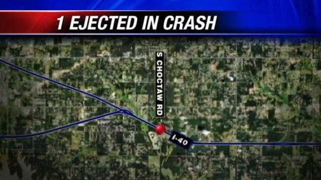 1 Missing after I-40 and Choctaw crash