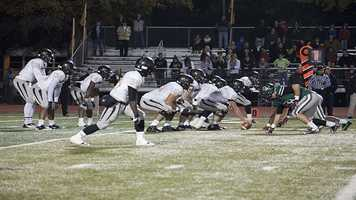 Norman North was able to keep the Tigers silent on offense for the first half when they went to halftime leading 14-3.
