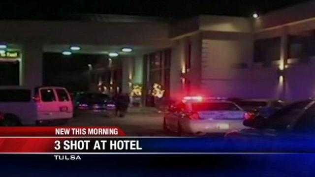 3 shot outside Tulsa hotel
