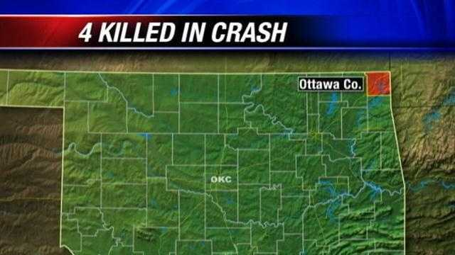 4 killed in Ottawa County crash