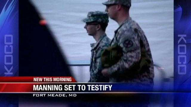 Oklahoma soldier Bradley Manning will defend himself in the court for the first time since being accused of leaking classified information.