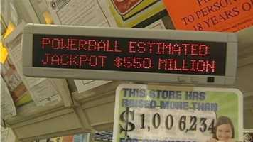 $1,000,000 - The ticket was bought at 4-Way Stop at 1502 W. Main in Collinsville. This prize is the 21st prize of $1 million or more paid by the Oklahoma Lottery.