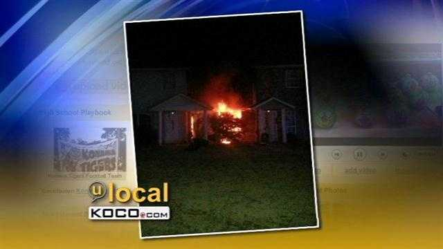 Officials with the Choctaw Fire Department say they found one person dead in an apartment fire Thursday night.