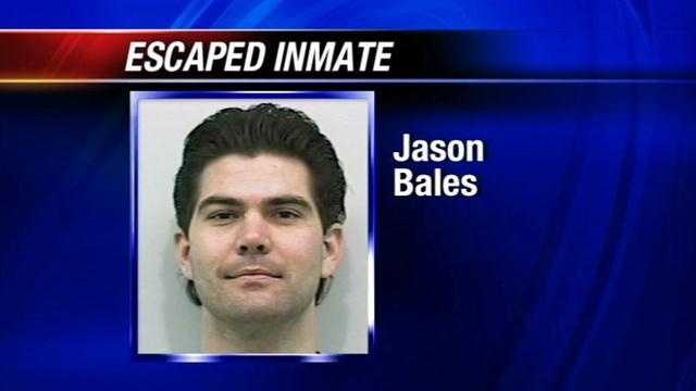 Jason Bales escaped early Monday from the Mack Alford Correctional Center in Stringtown. He is convicted of murdering an Oklahoma City woman, Stepheny Glass, back in 2006.