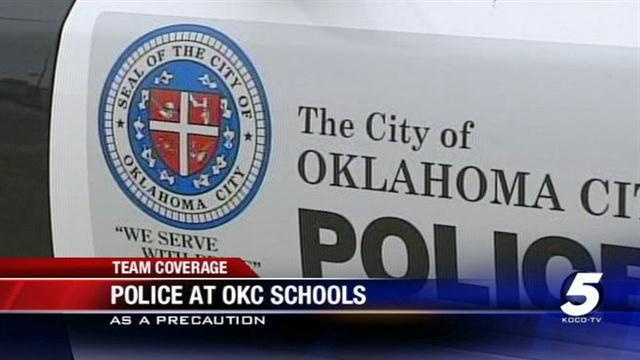 Oklahoma City law enforcement officials are working to ensure school safety after Friday's tragedy in Newtown, Connecticut.