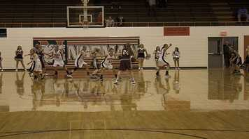 The Lady Tigers showed solid defense keeping the contest close in the final minutes. They kept the game within reach until they had to start sending the Lady Bulldogs to the line in order to try and get possession back with time a factor.