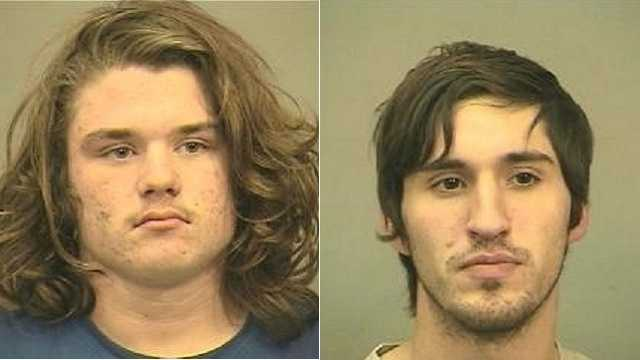 Left: Casey Hampton, 18.  Right: Hillrey Young.