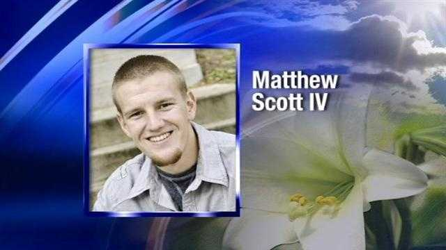 Matthew Scott IV died in an accident near Keyes.  Matthew was on the way to Colorado for a snowboarding trip when the accident happened.  Giraldo Guzman has been charged with vehicular homicide for his role in the crash.