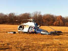 An OHP spokesman said that the possible cause of this crash was engine failure.