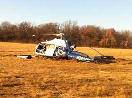 Four people suffered serious injuries, troopers said.