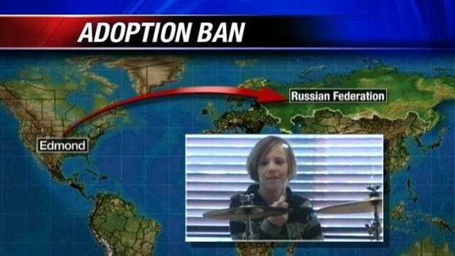The Russian government recently banned Americans from adopting children there.