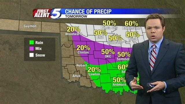 Meteorologist Rusty McCranie has your outlook