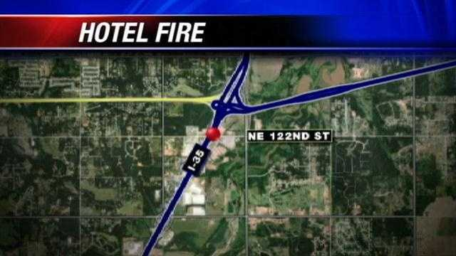 Fire officials investigating cause of hotel fire