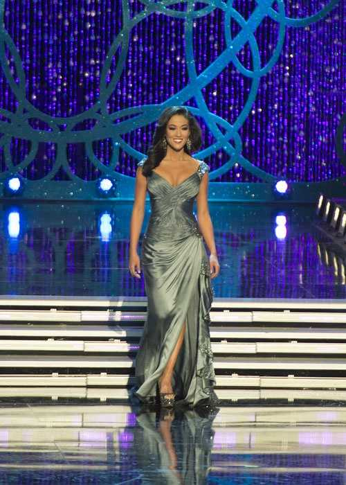 More photos from photographer Leigh Thompson from the evening gown competition at the Miss America pageant.