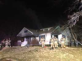 KOCO's Naveen Dhaliwal snapped photos from the scene of a house fire near NE 15th Street and Bath Avenue.
