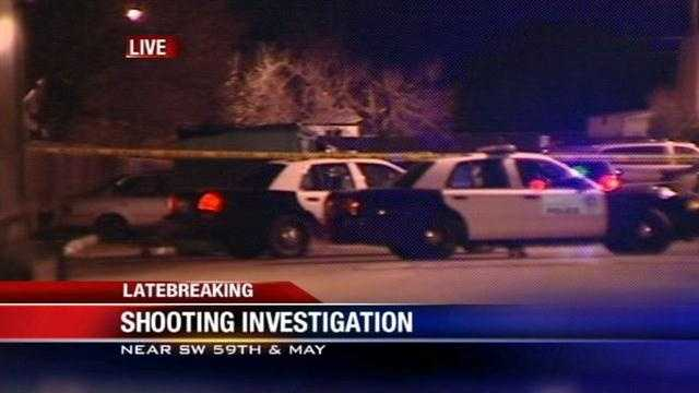 img-Police Man robbed and shot in SW OKC