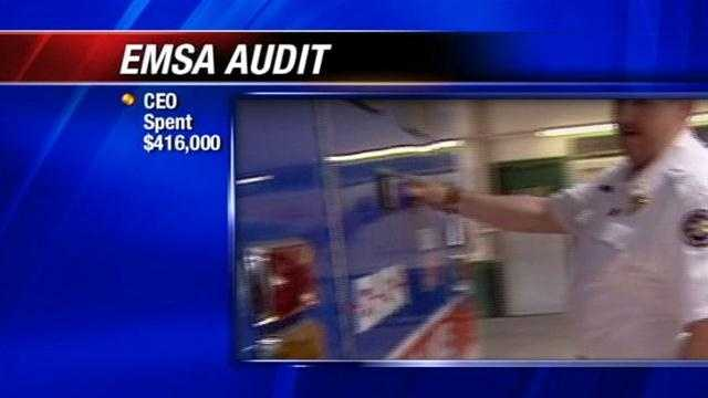 On Wednesday EMSA board members will meet to discuss the results of the audit.