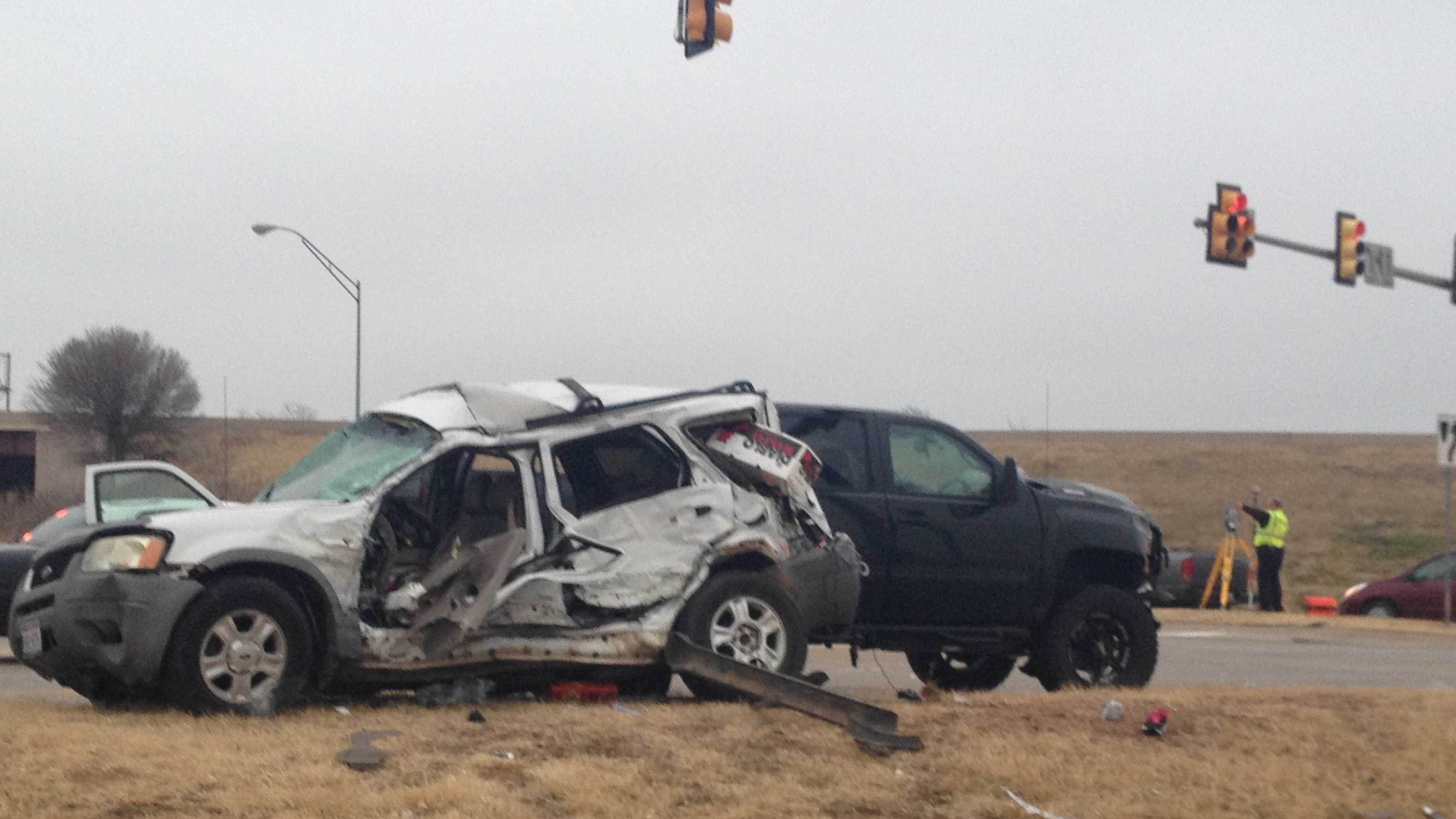 A traffic collision on Saturday left one person dead.