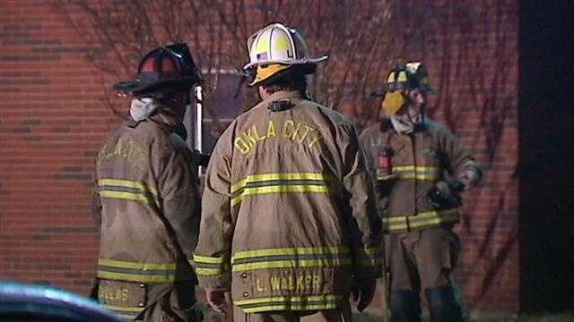 Fire sparks evacuation at NW OKC apartment