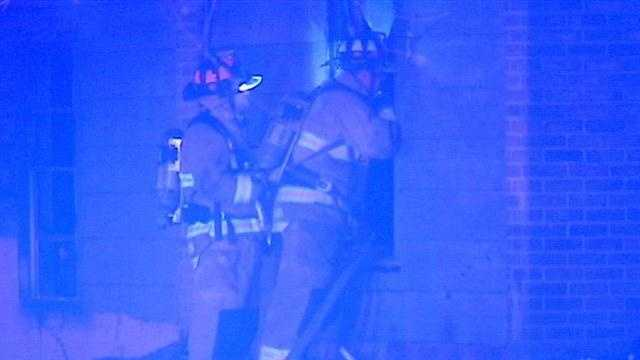 Abandoned apartment complex catches fire again, firefighters say