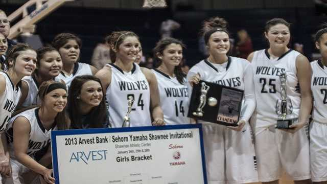 The Lady Wolves won the Shawnee Shootout girls bracket. The defending 5A state champions defended not only their home court, but their number one ranking.