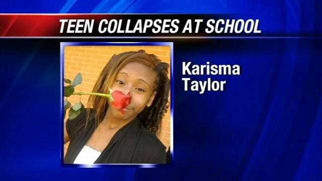 A metro family is praying for their teen daughter in a coman after collapsing at school. 15 year old Karisma Taylor passed out following basketball practice at Millwood High School on Monday. Doctors will perform one last test today.