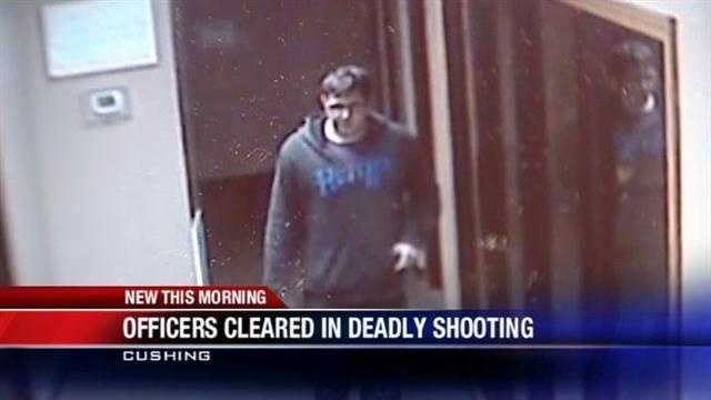 Officers cleared in deadly Cushing shooting