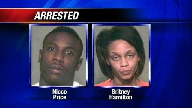 Oklahoma City Police bust a group of robbers who struck five times in just a matter of hours. Nicco Lemar Price, 24, and Britney Hamilton, 27, were arrested.